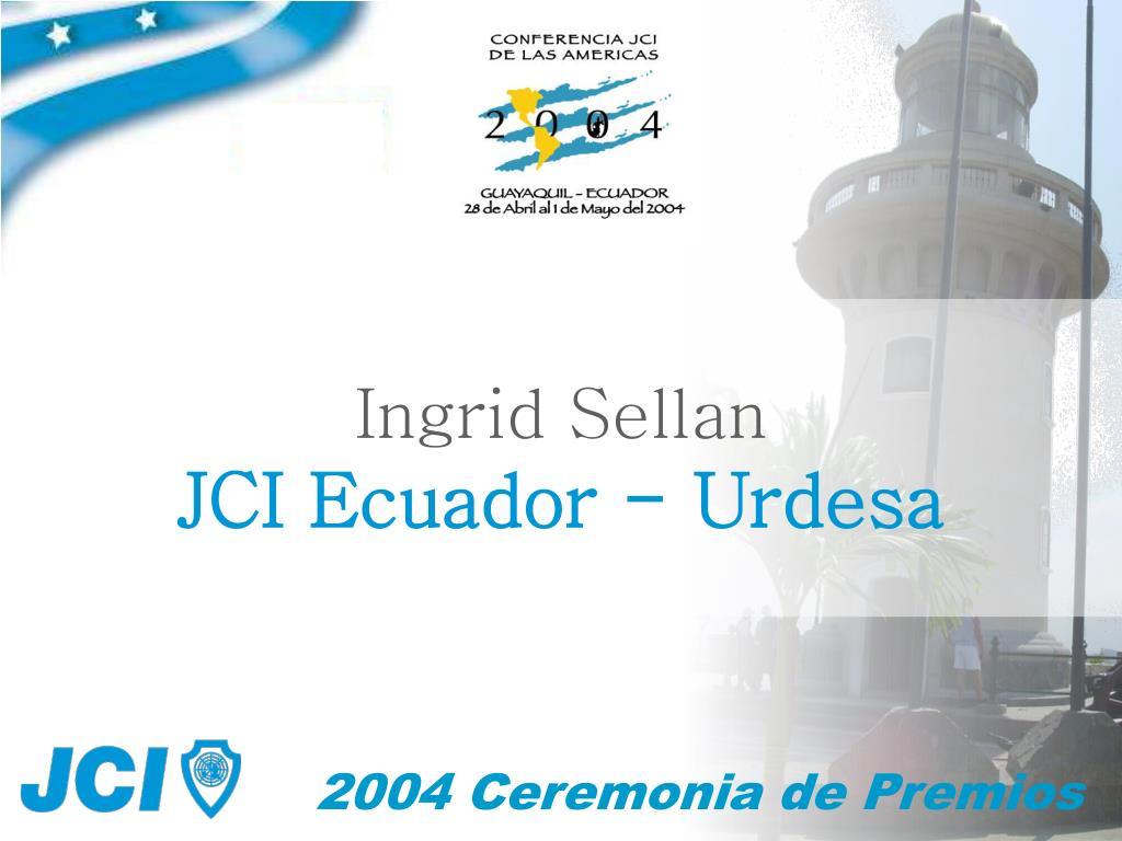 Ingrid Sellan