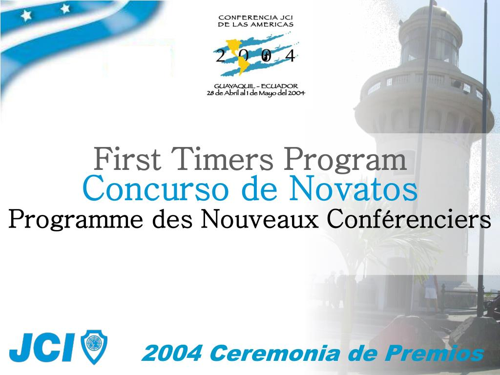 First Timers Program