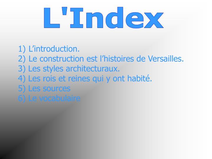 L'Index
