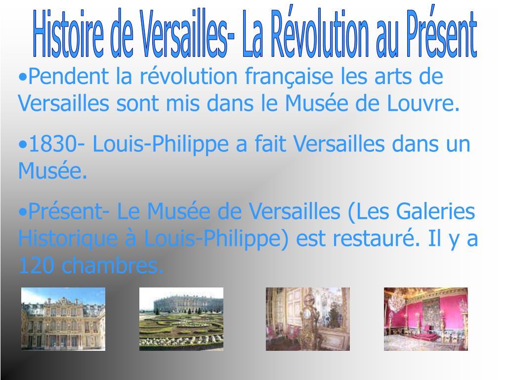 Histoire de Versailles- La Révolution au Présent
