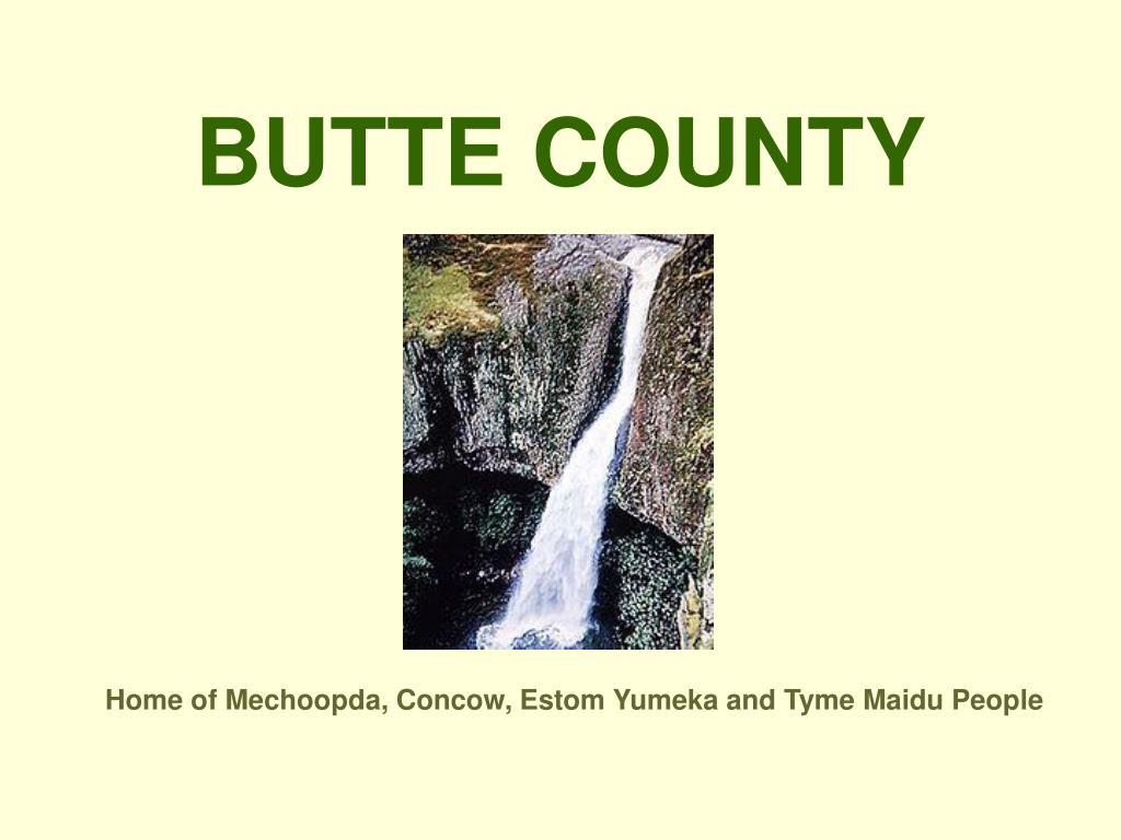 butte county l.