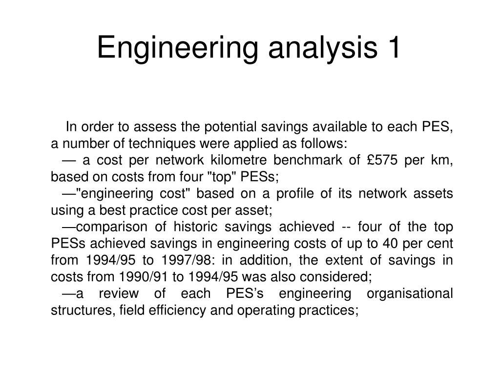 Engineering analysis 1