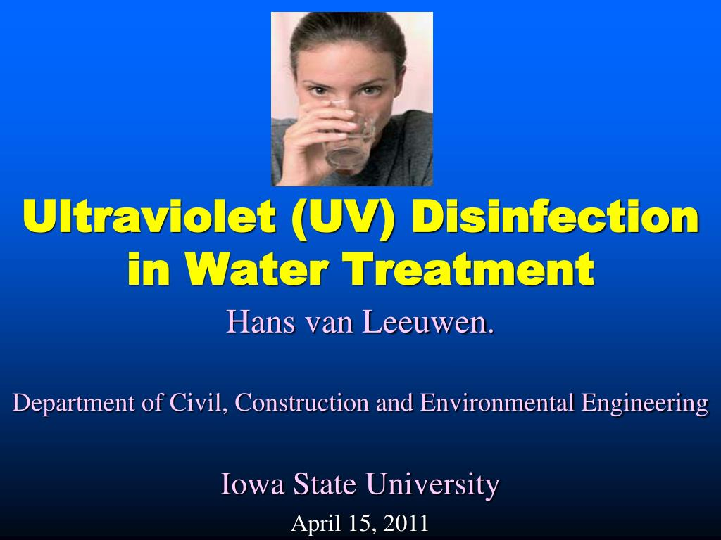 ultraviolet uv disinfection in water treatment l.