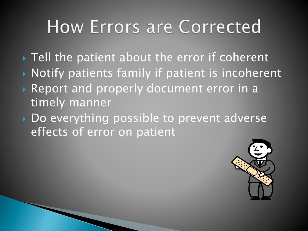 How Errors are Corrected