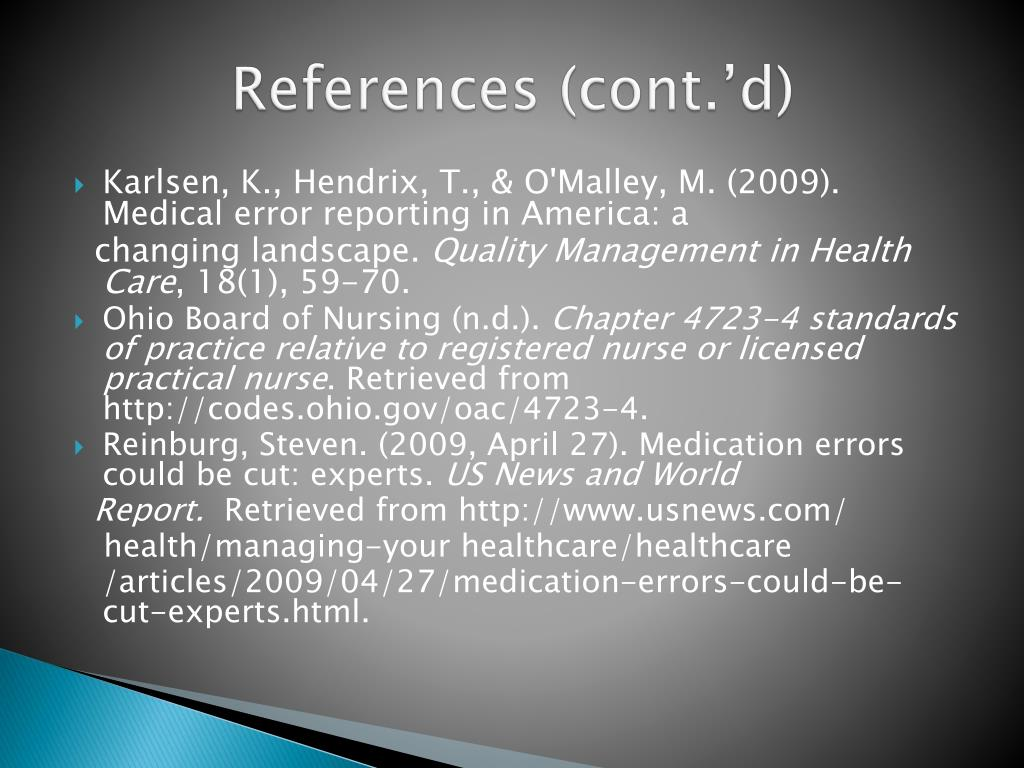 References (