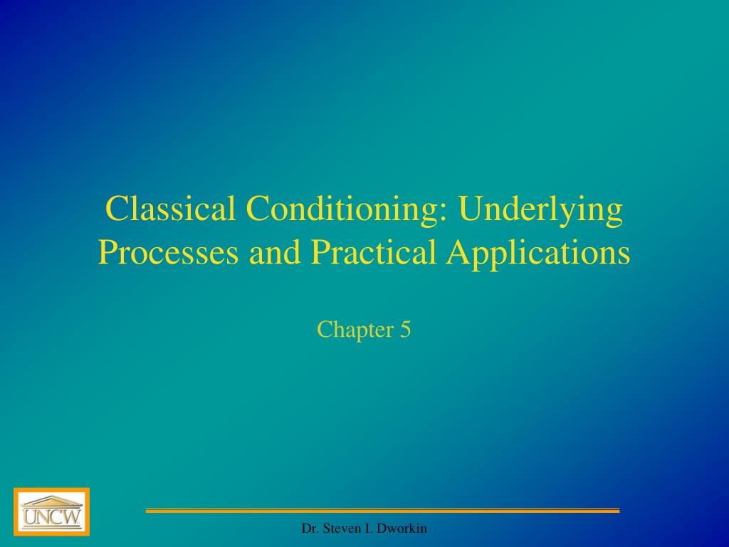 practical application of classical conditioning