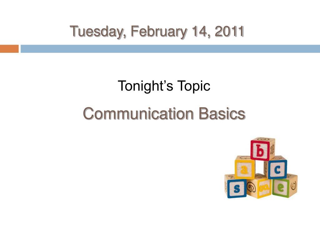 tuesday february 14 2011