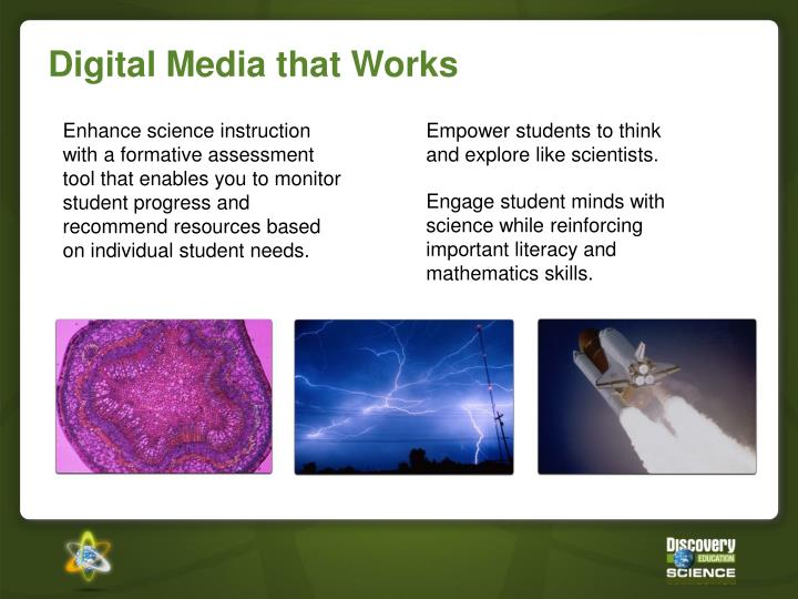 Digital media that works