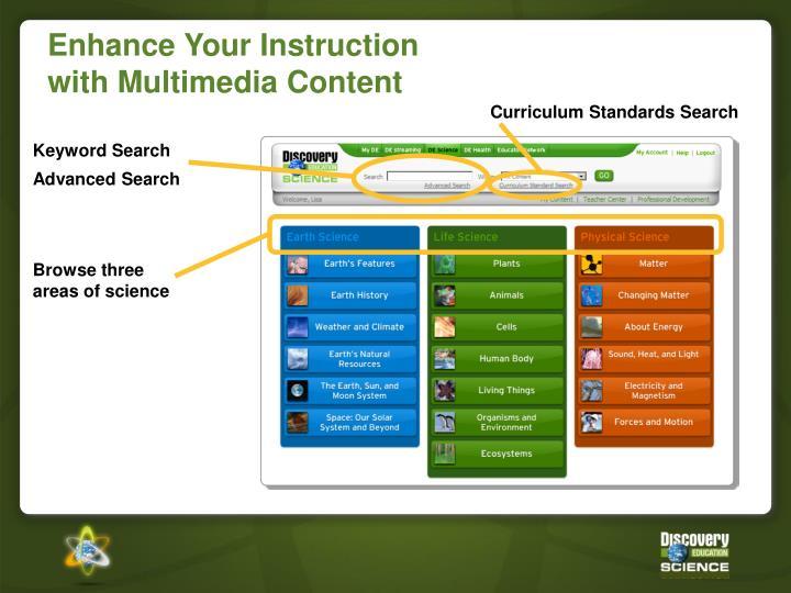 Curriculum Standards Search