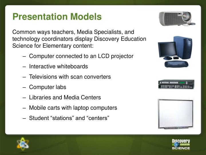 Presentation Models