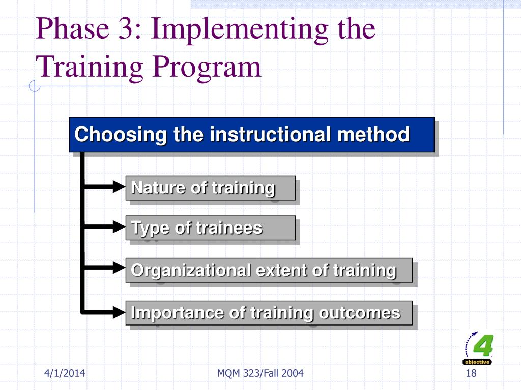 Phase 3: Implementing the Training Program