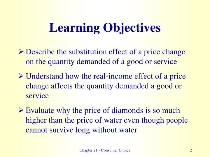 Learning objectives2