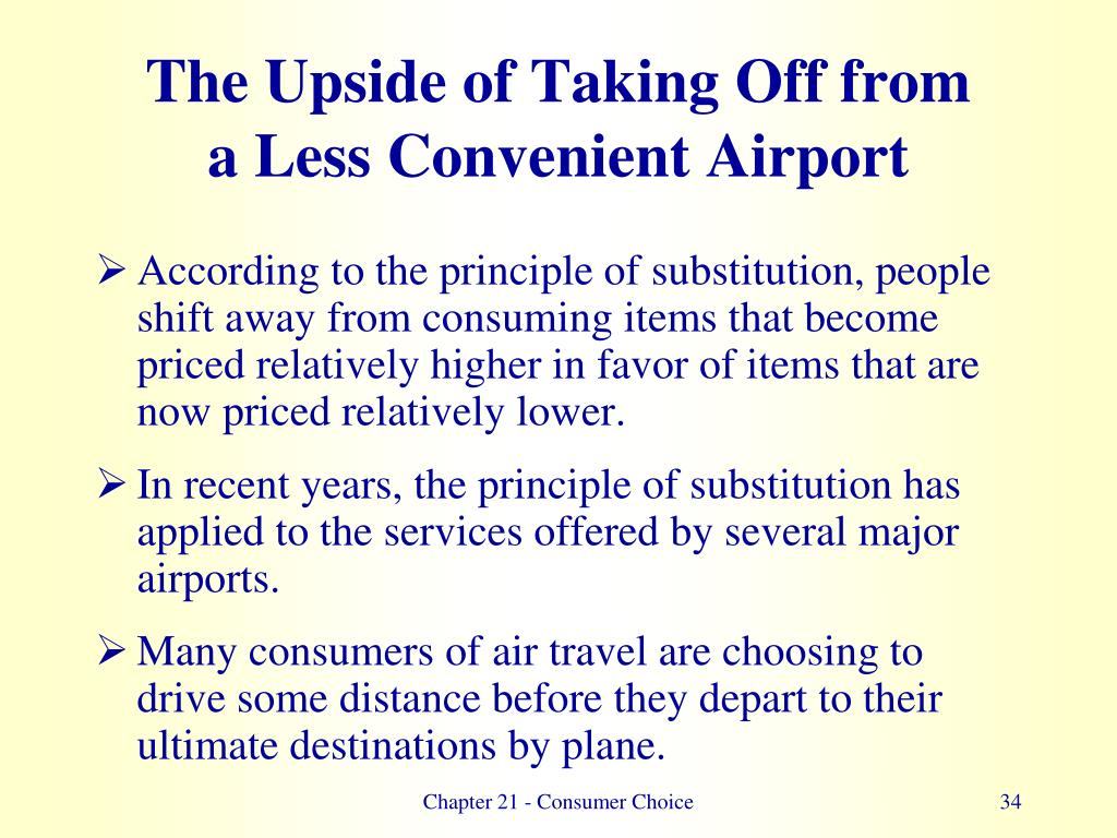 The Upside of Taking Off from