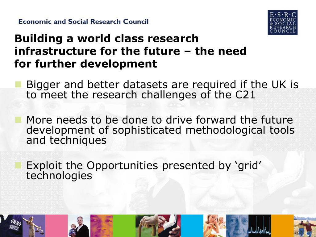 Building a world class research infrastructure for the future – the need for further development