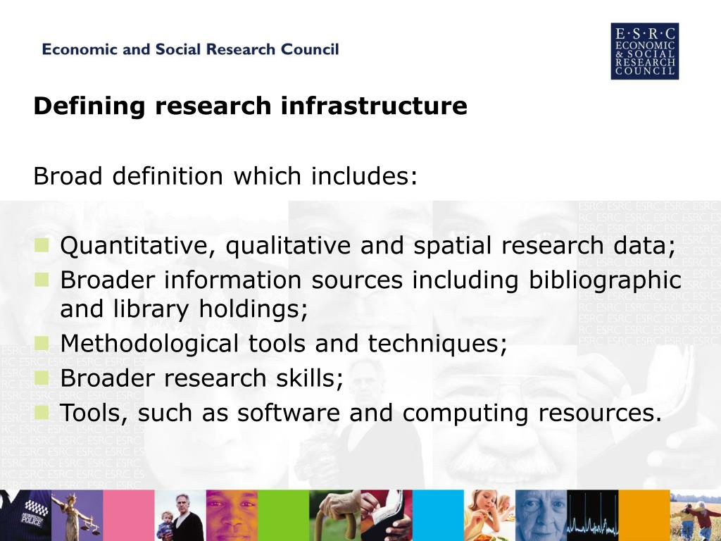 Defining research infrastructure