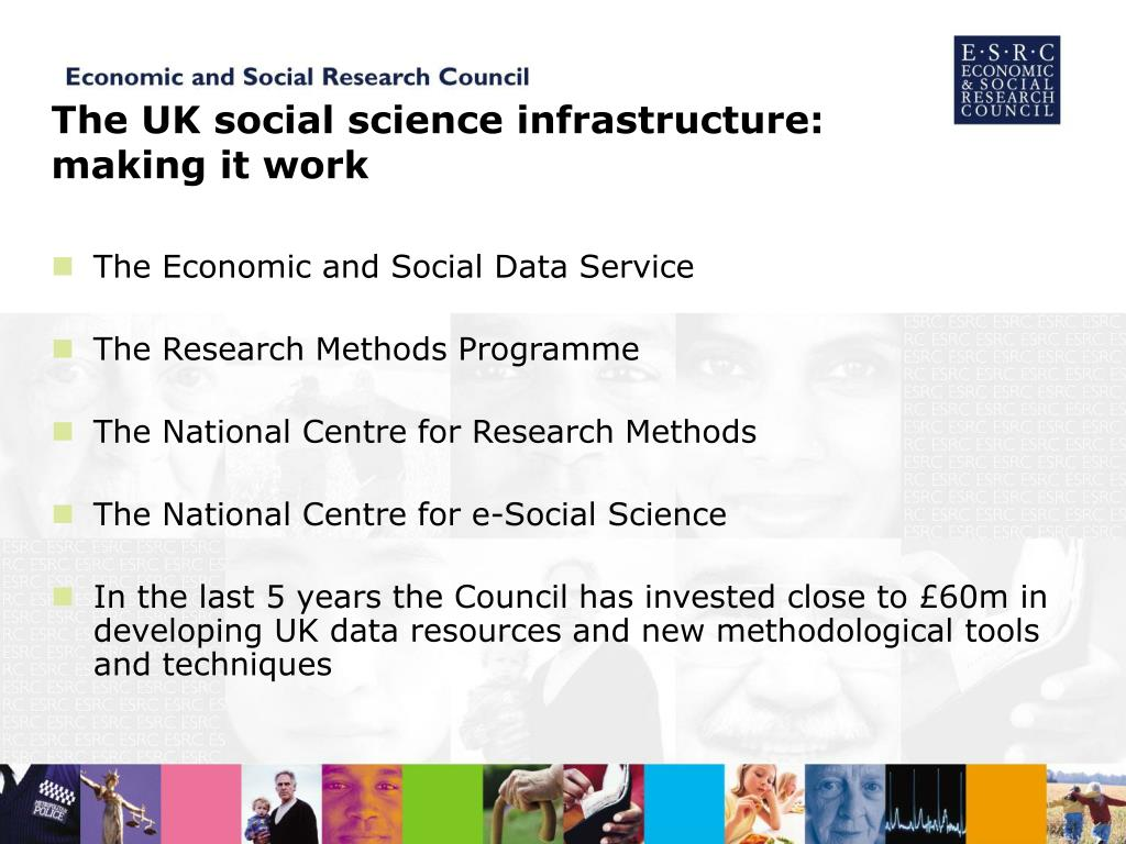 The UK social science infrastructure: making it work