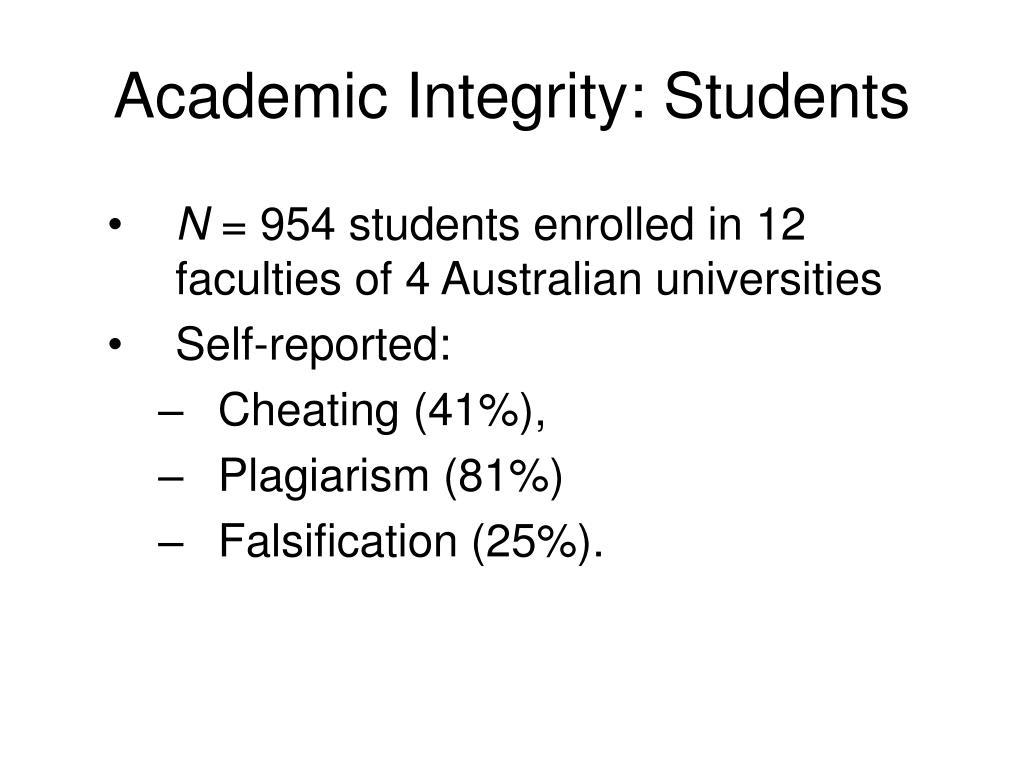 Academic Integrity: Students