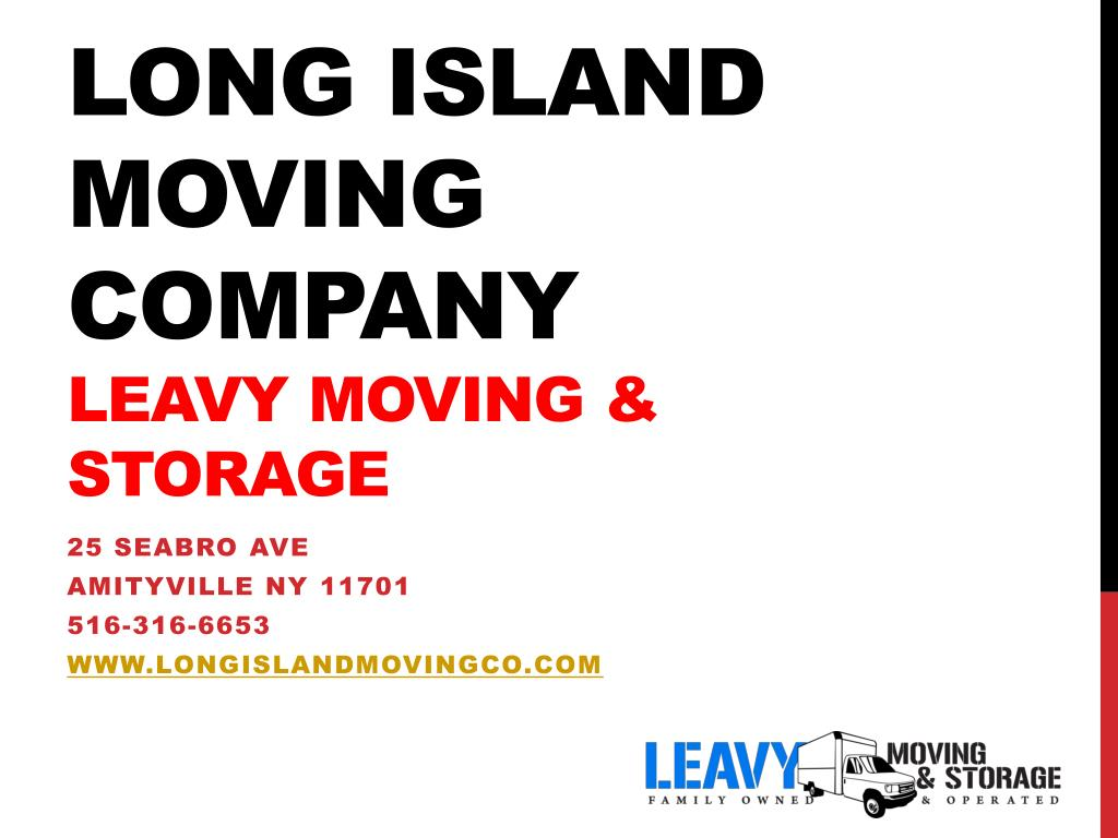 long island moving company leavy moving storage l.