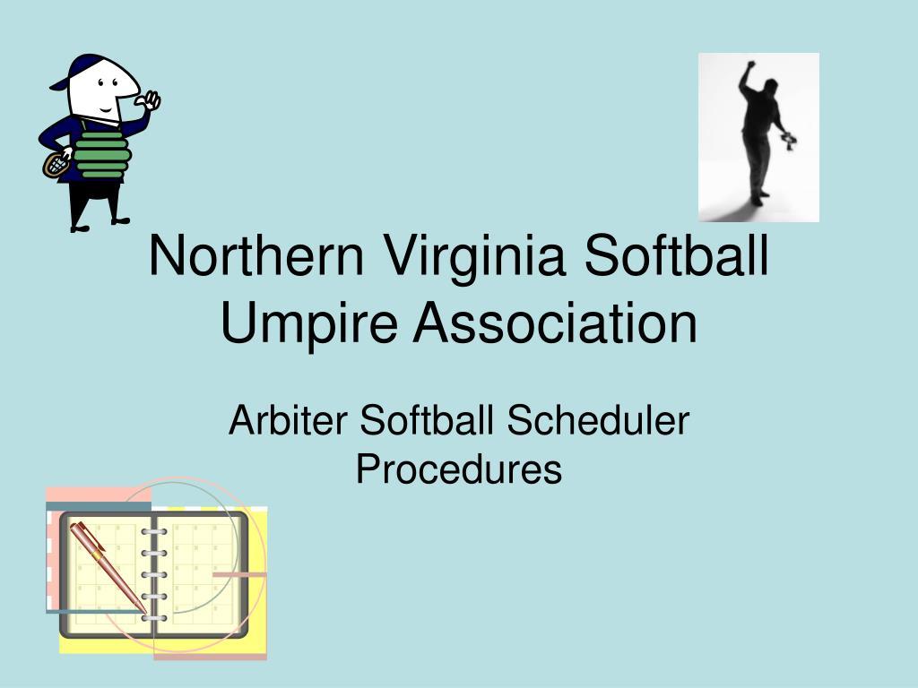 northern virginia softball umpire association