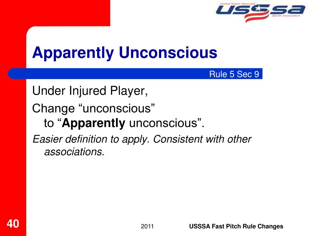 Apparently Unconscious