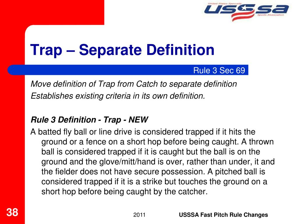 Trap – Separate Definition