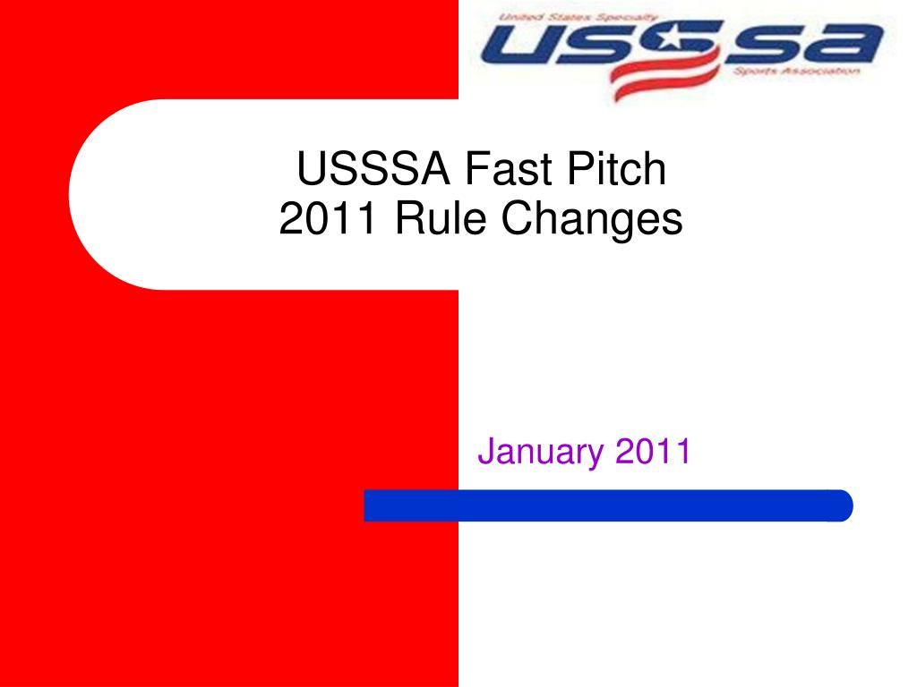 USSSA Fast Pitch