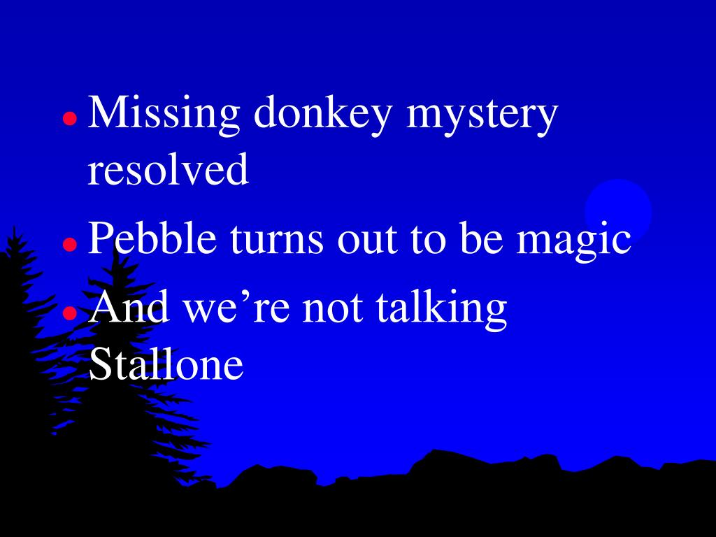 Missing donkey mystery resolved
