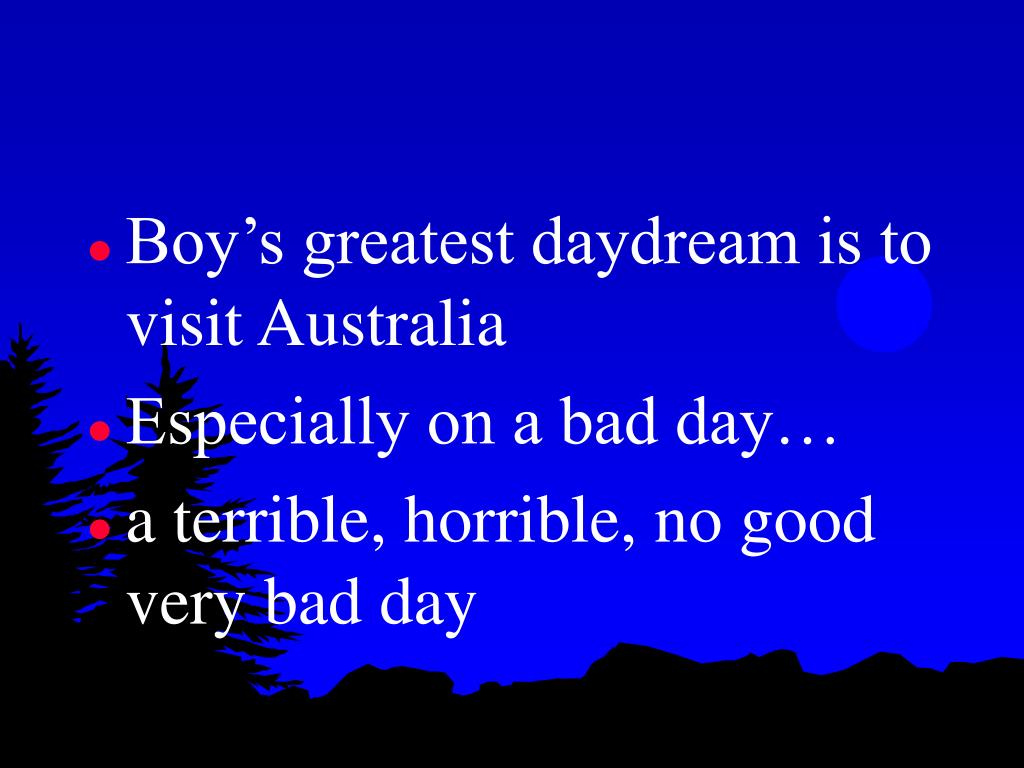Boy's greatest daydream is to visit Australia