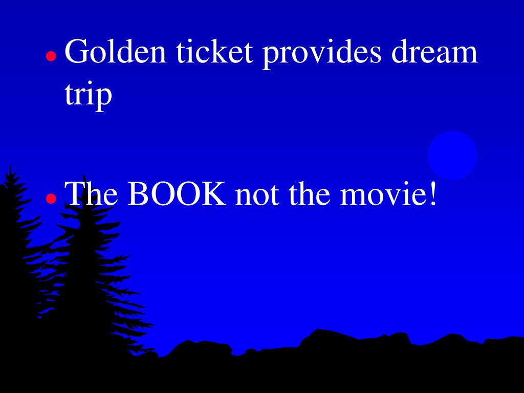 Golden ticket provides dream trip
