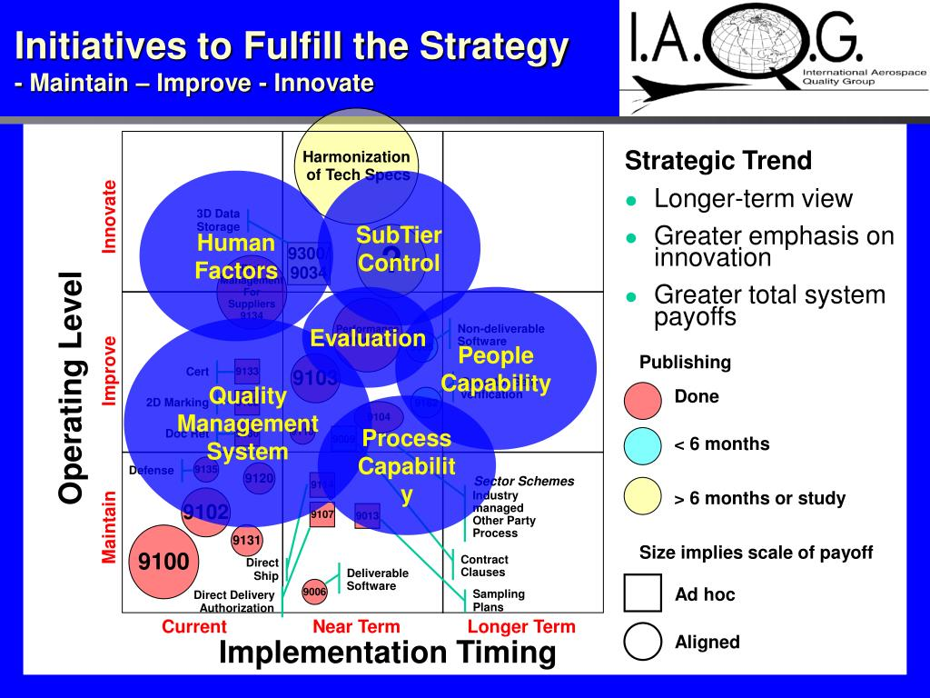 Initiatives to Fulfill the Strategy