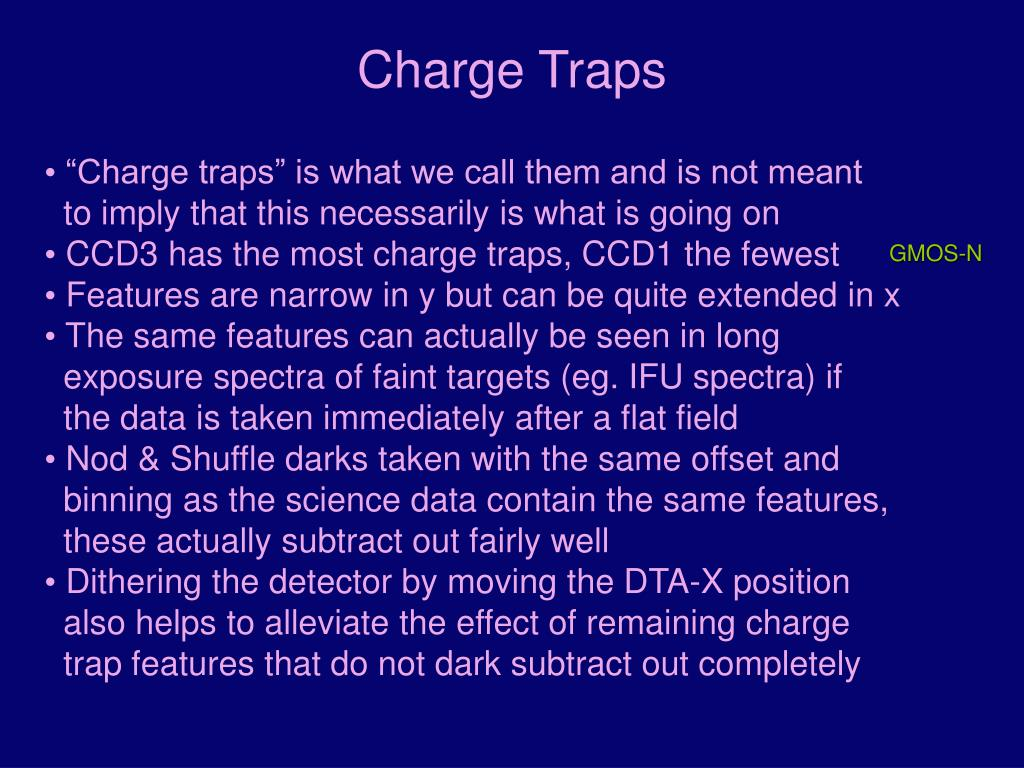Charge Traps