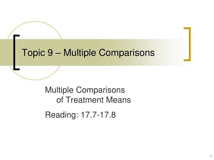 topic 9 multiple comparisons n.