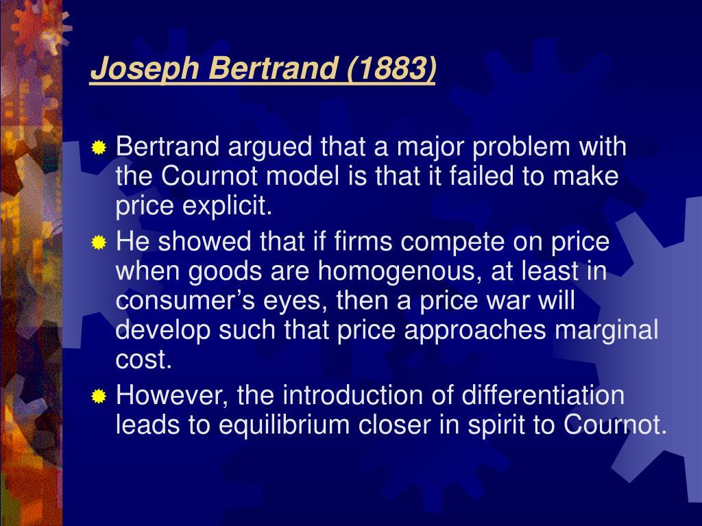 Joseph Bertrand (1883)