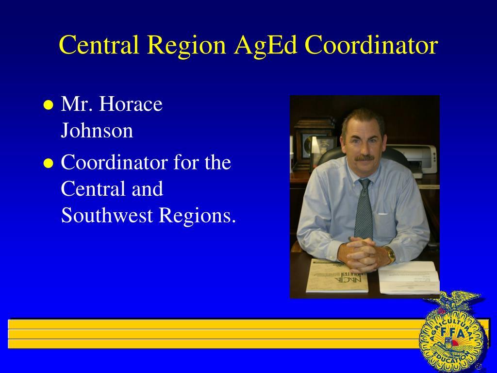 Central Region AgEd Coordinator