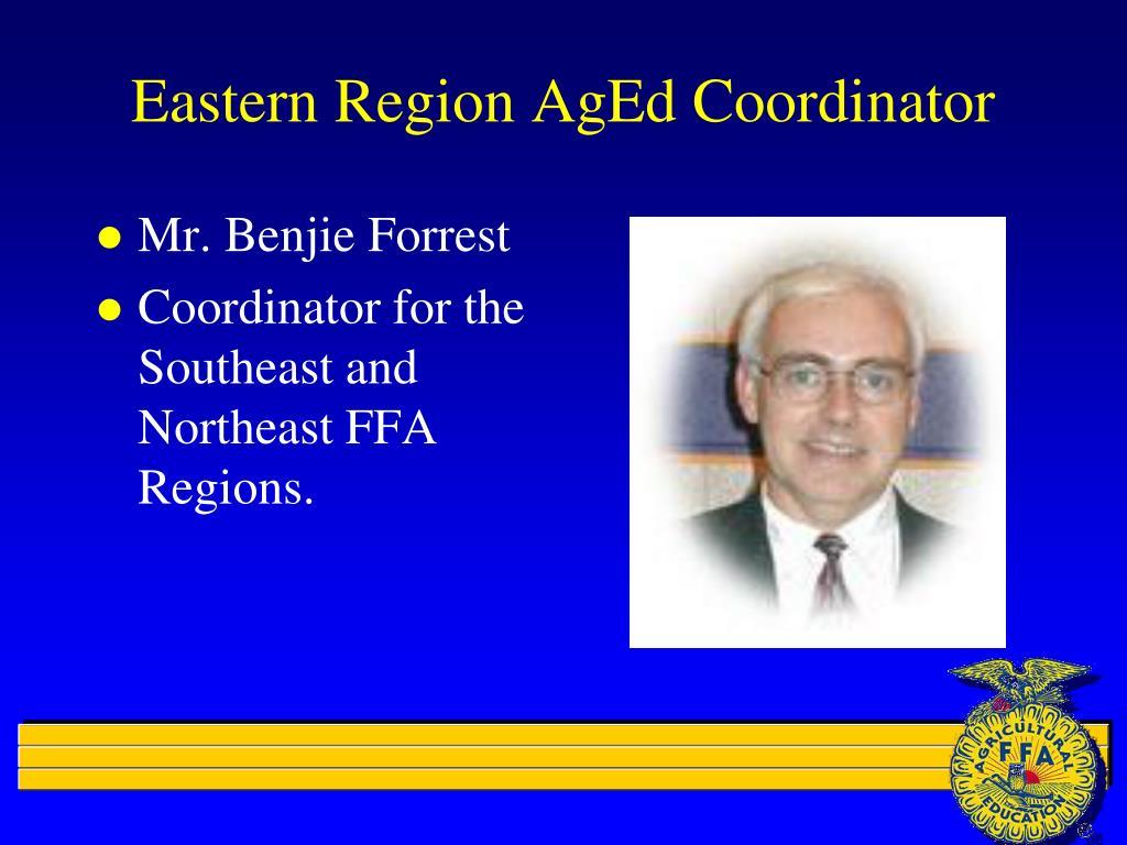 Eastern Region AgEd Coordinator