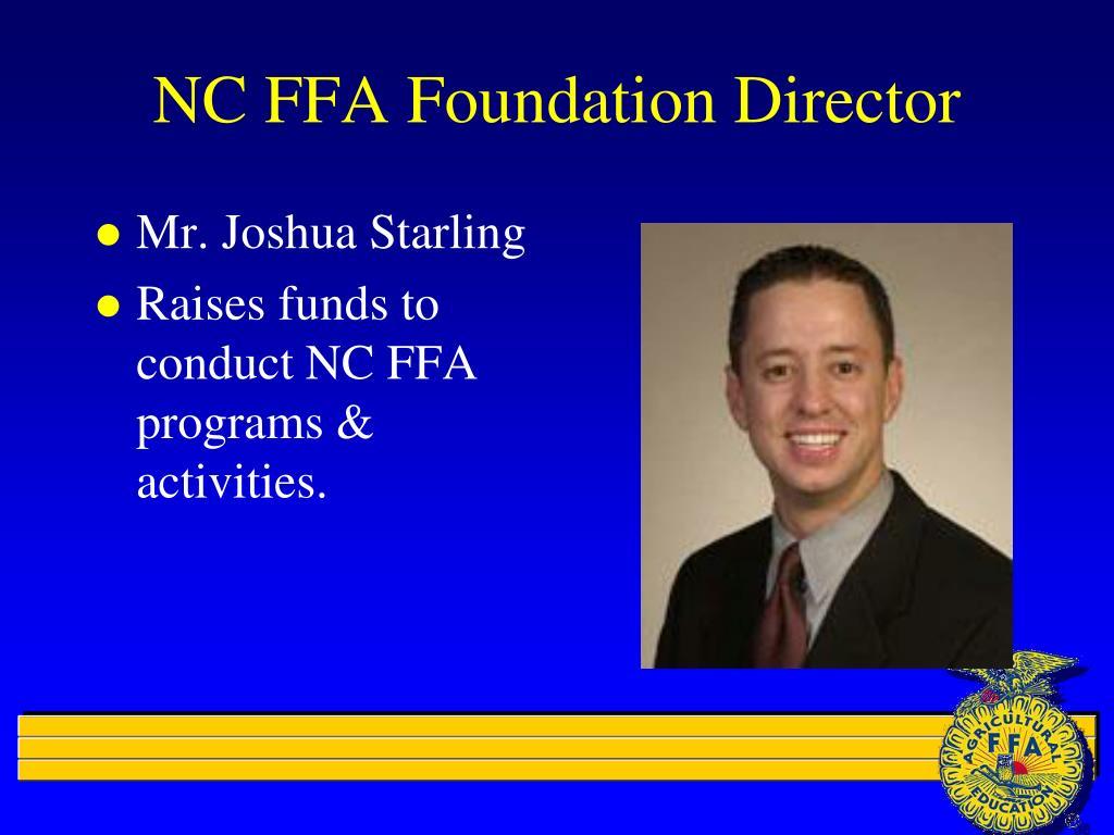 NC FFA Foundation Director