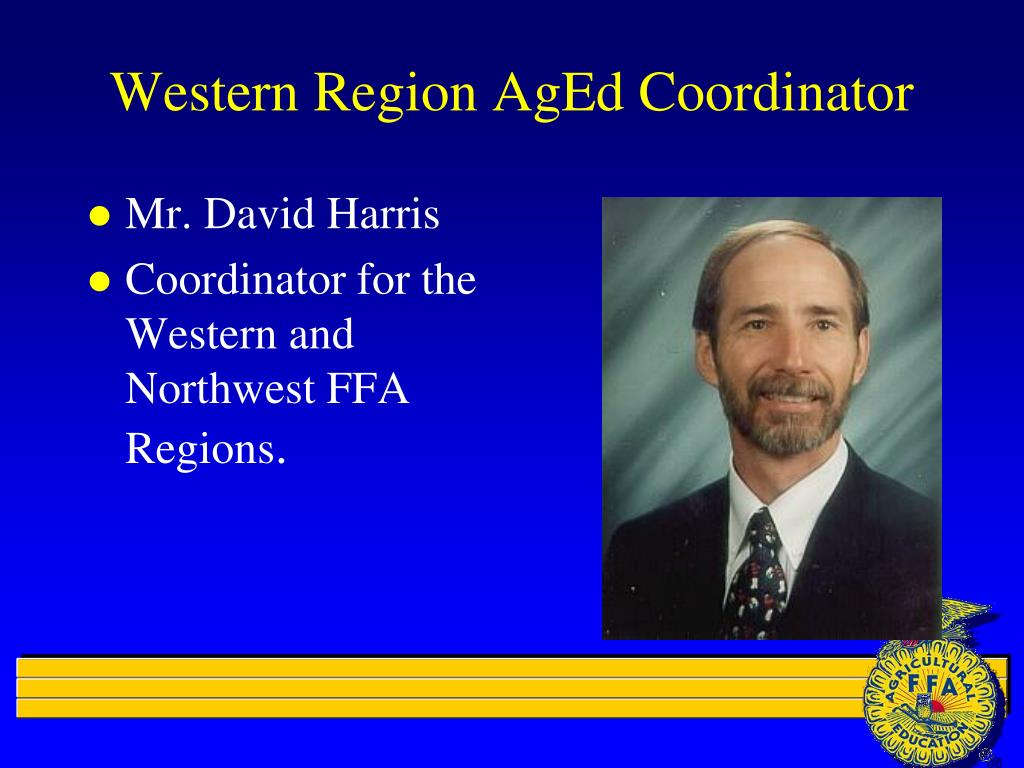 Western Region AgEd Coordinator