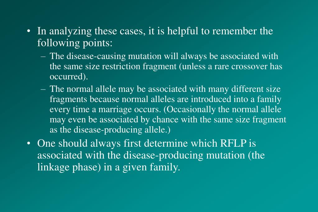 In analyzing these cases, it is helpful to remember the following points: