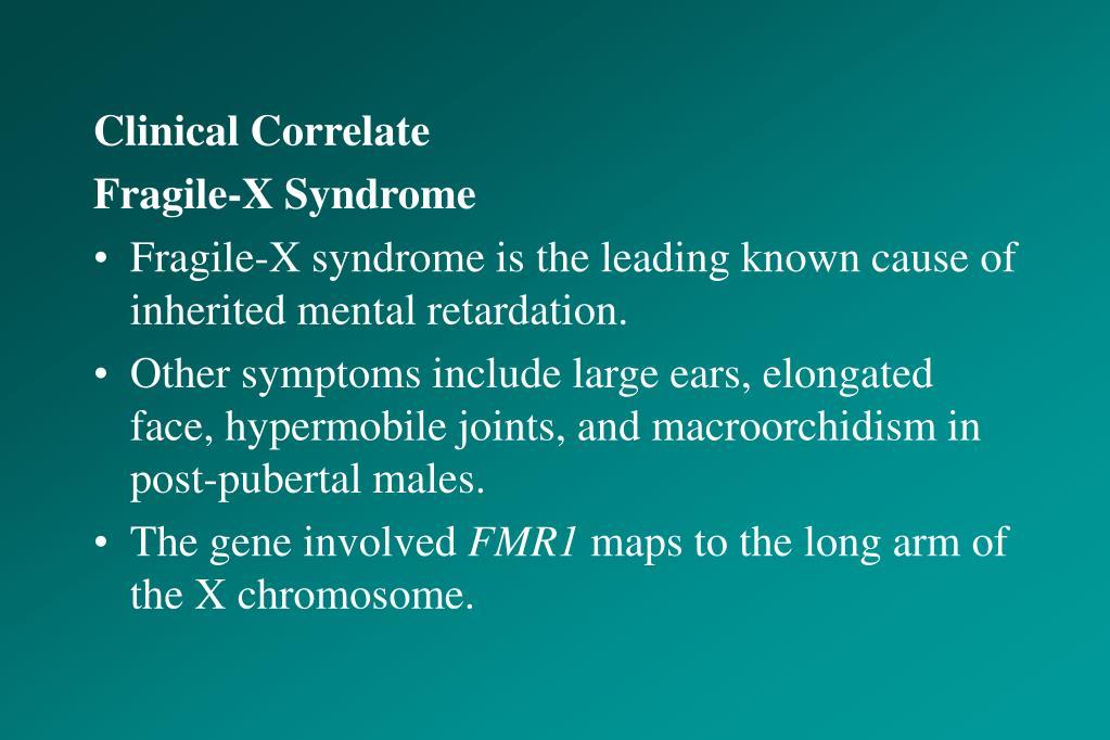 Clinical Correlate