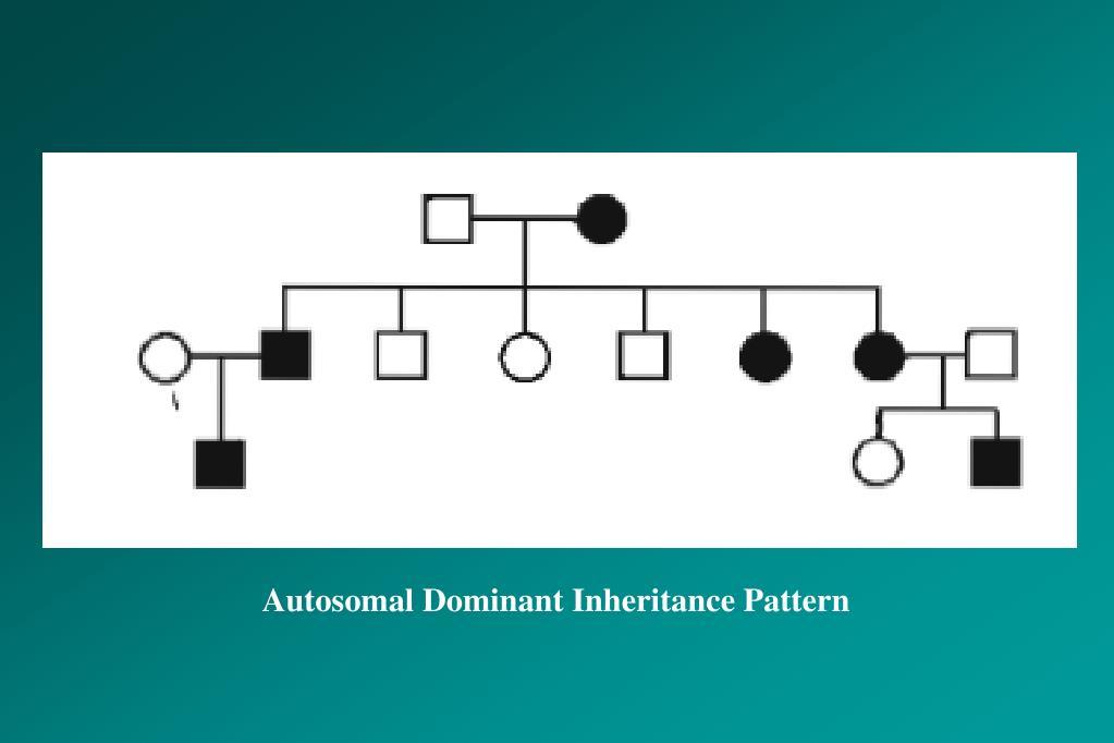 Autosomal Dominant Inheritance Pattern