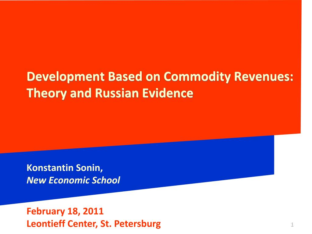 Development Based on Commodity Revenues:
