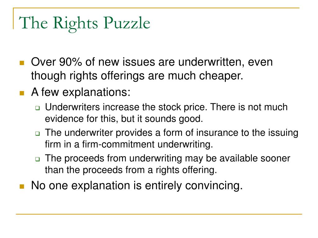 The Rights Puzzle