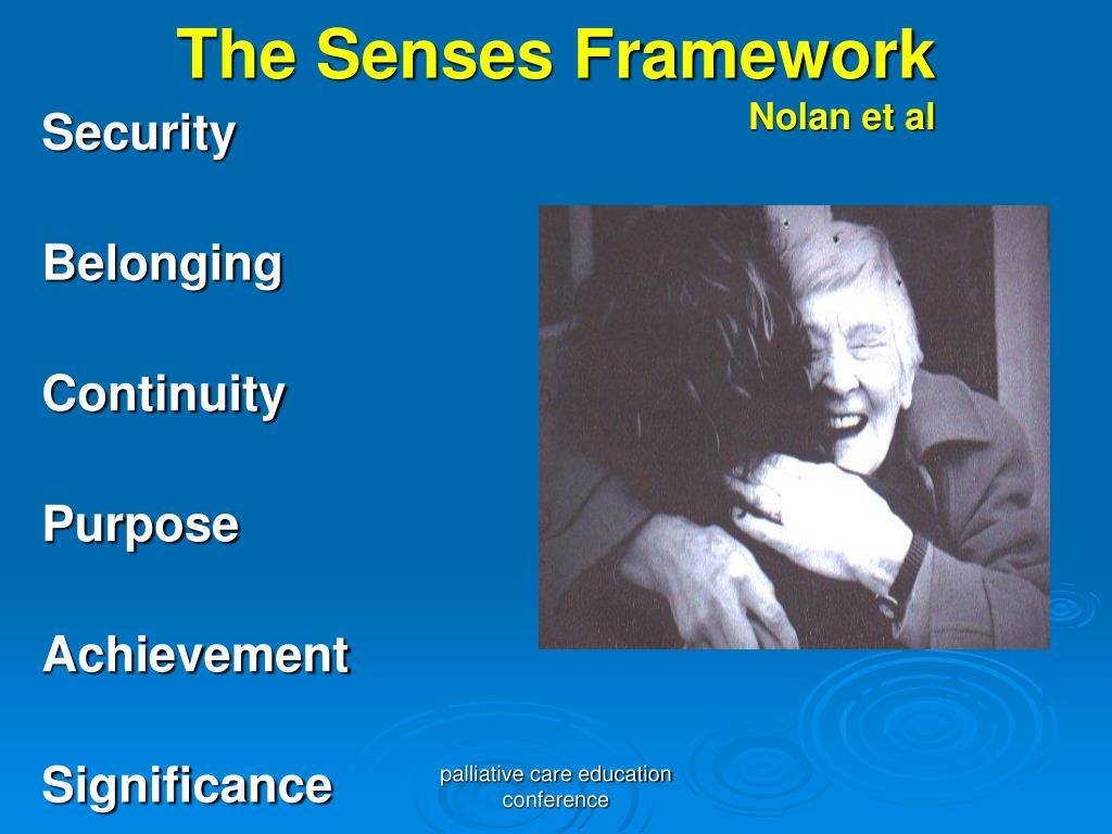 The Senses Framework