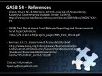 gasb 54 references28