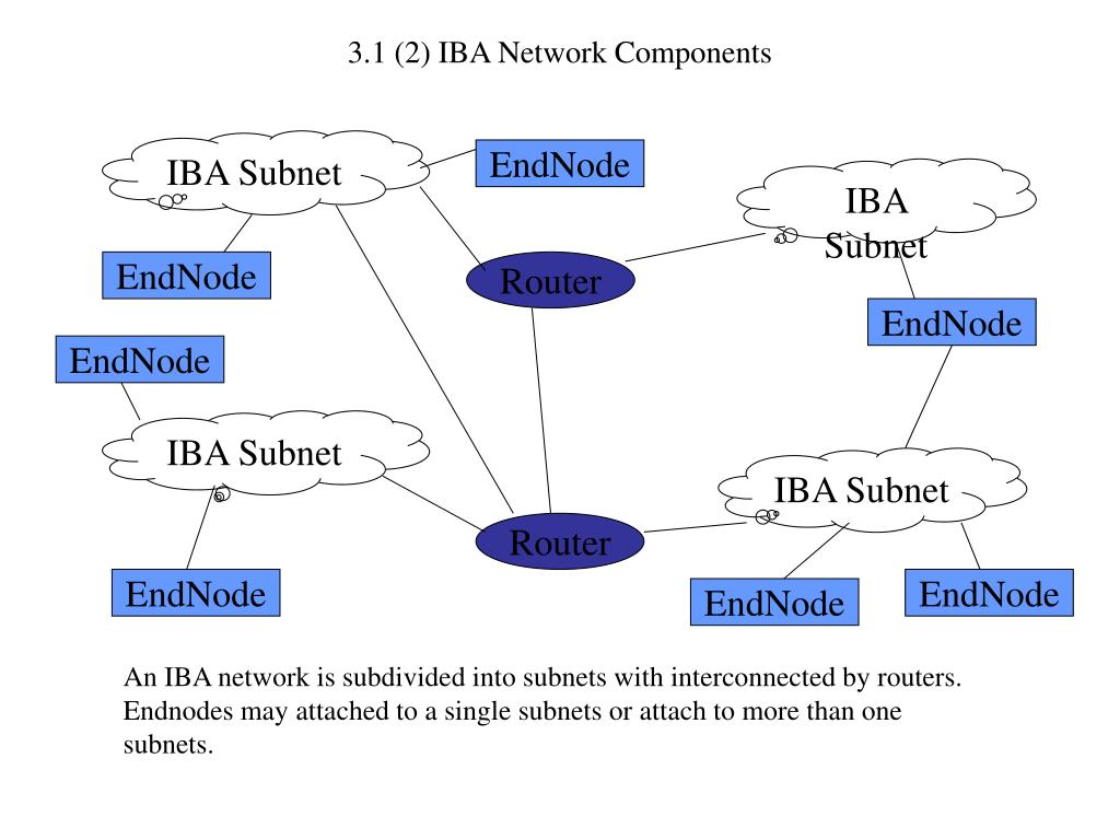 3.1 (2) IBA Network Components