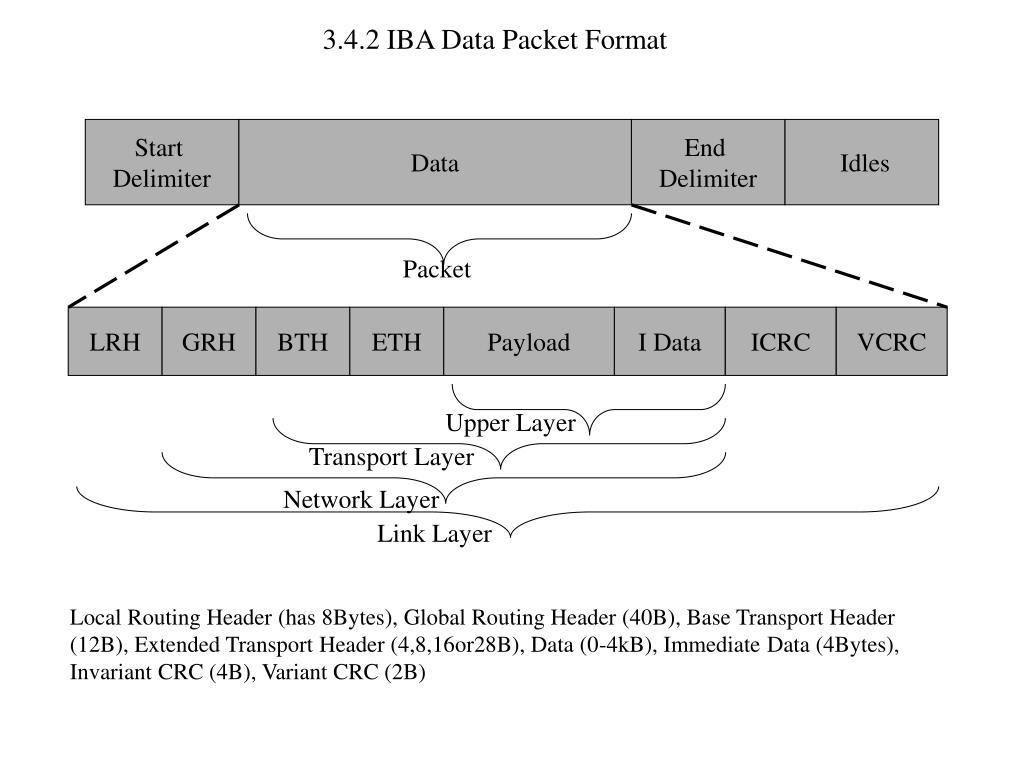 3.4.2 IBA Data Packet Format