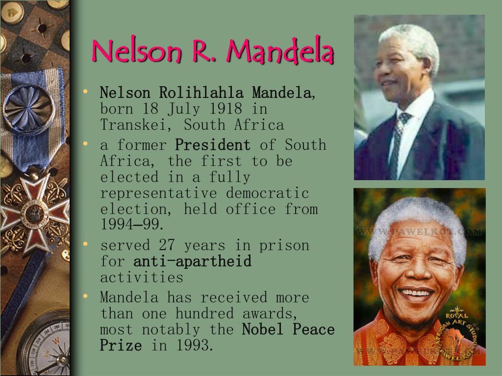 Nelson R. Mandela