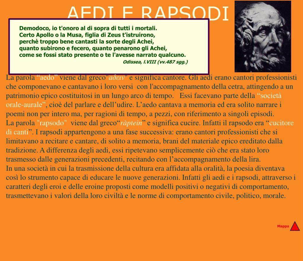 AEDI E RAPSODI