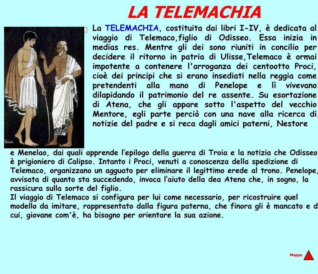 LA TELEMACHIA