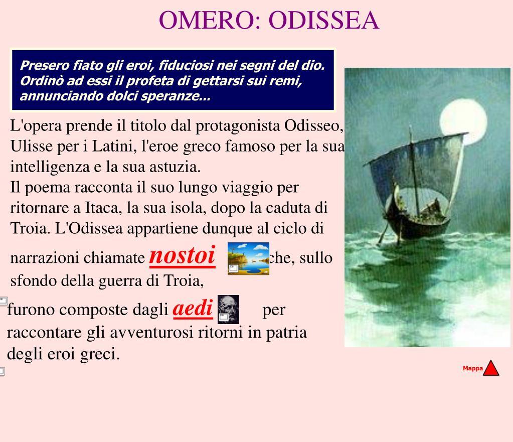 OMERO: ODISSEA